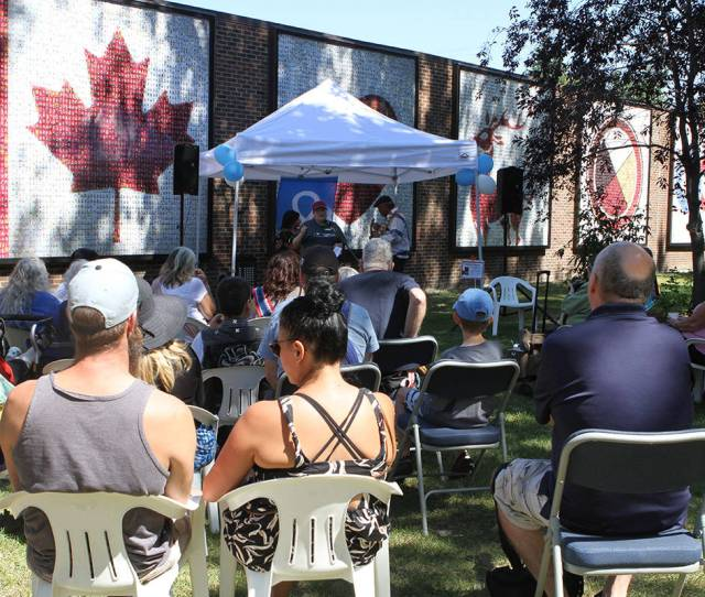 Museum And Art Gallery For Heritage Day Monday The Museum Hosted Crafts Live Music Bannock Outdoor Games And A Jigging Lesson To Celebrate Metis