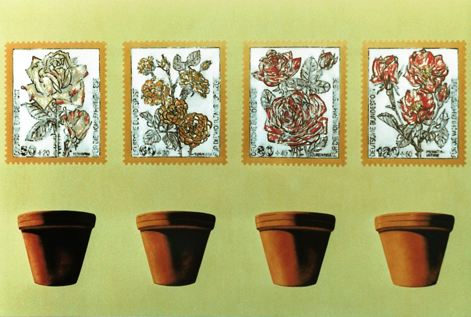 """Titel: Die Flora (aus der Serie """"Schautafeln)"""