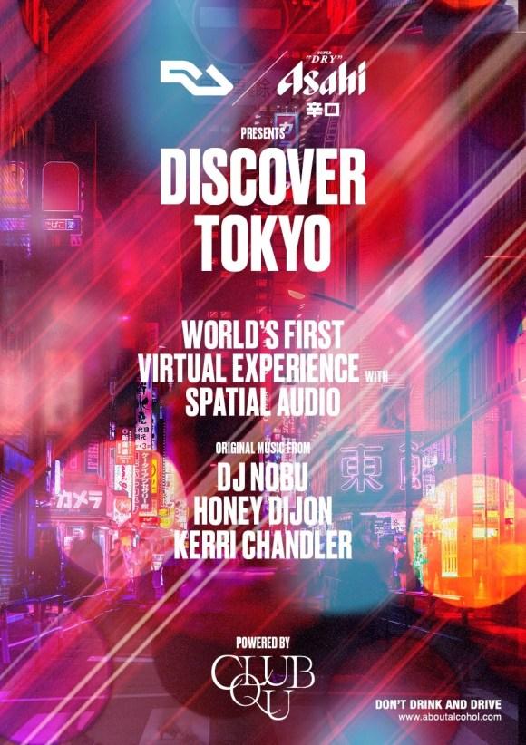 RA and Asahi Super Dry present: Discover Tokyo at Livestream, Streamland ⟋ RA