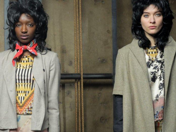 two models at Gary Graham, fall 2011