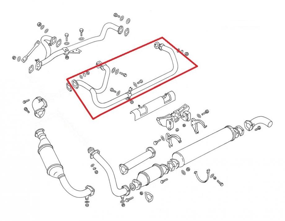-282; Bus; Bulli; T3; 1.9; 2.1; Syncro; Krümmer