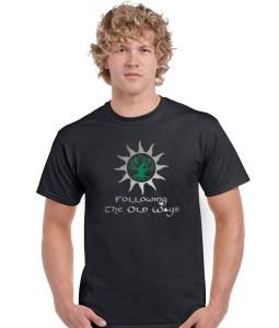 following the old ways pagan shirt