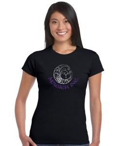 magick inc with fancy moon ladies pagan shirt