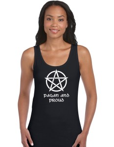 pagan and proud ladies shirt