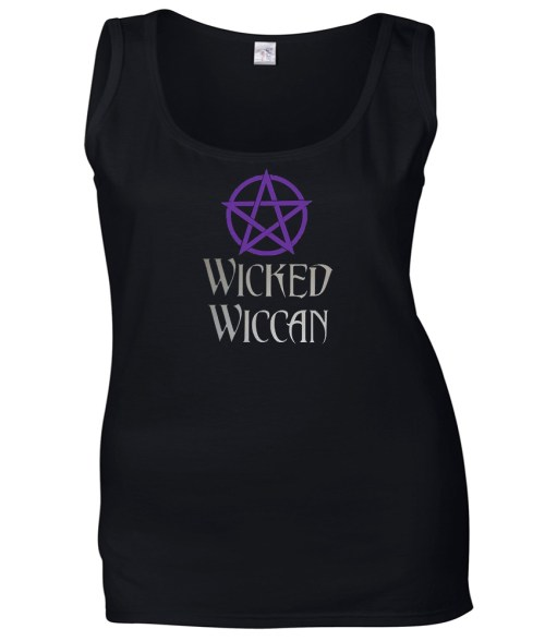 wicked wiccan ladies pagan top