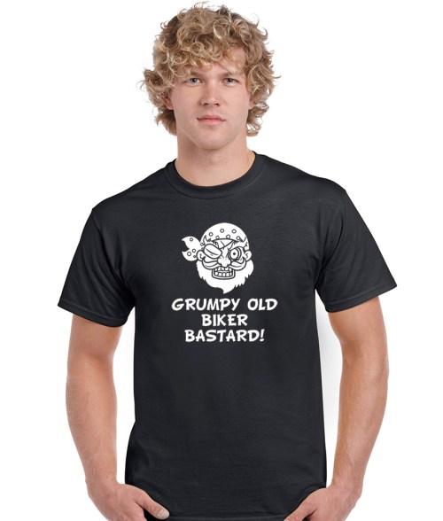 grumpy old biker bastard shirt