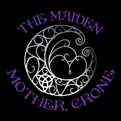 maiden mother and crone pagan design