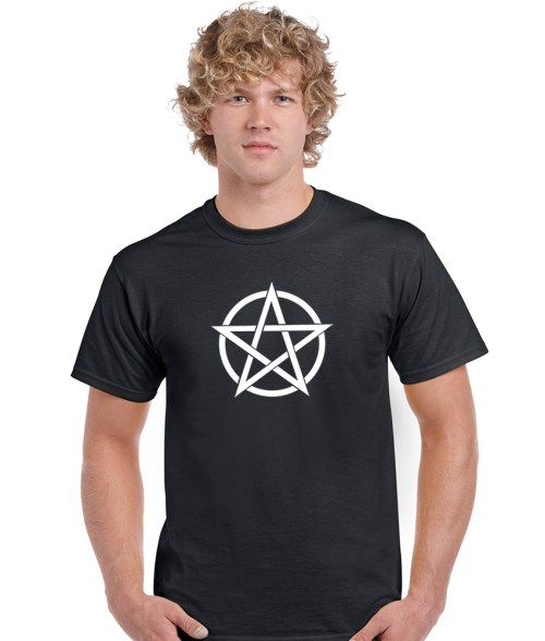 pagan pentacle shirt