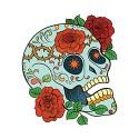 sugar skull design 05