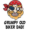 grumpy old biker dad