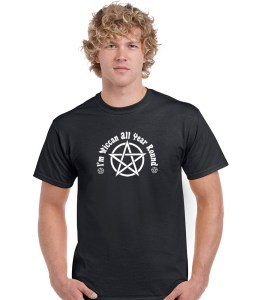 i'm wiccan all year round pagan shirt