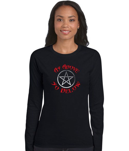 as above so below pagan shirt