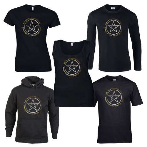 bide the wiccan rede men's pagan shirt