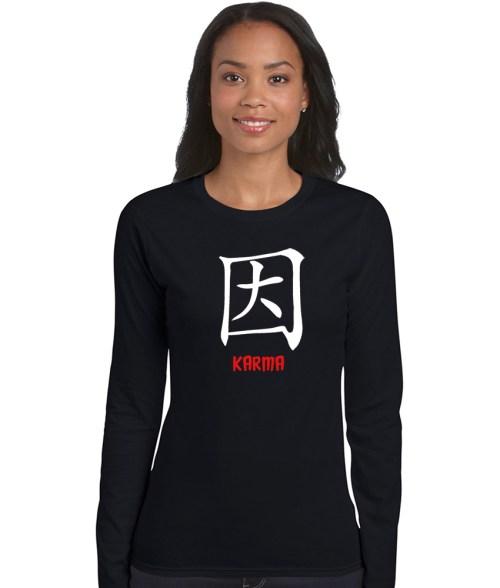 chinese symbol karma shirt