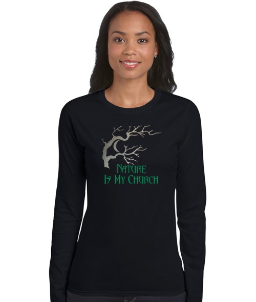 nature is my church pagan shirt