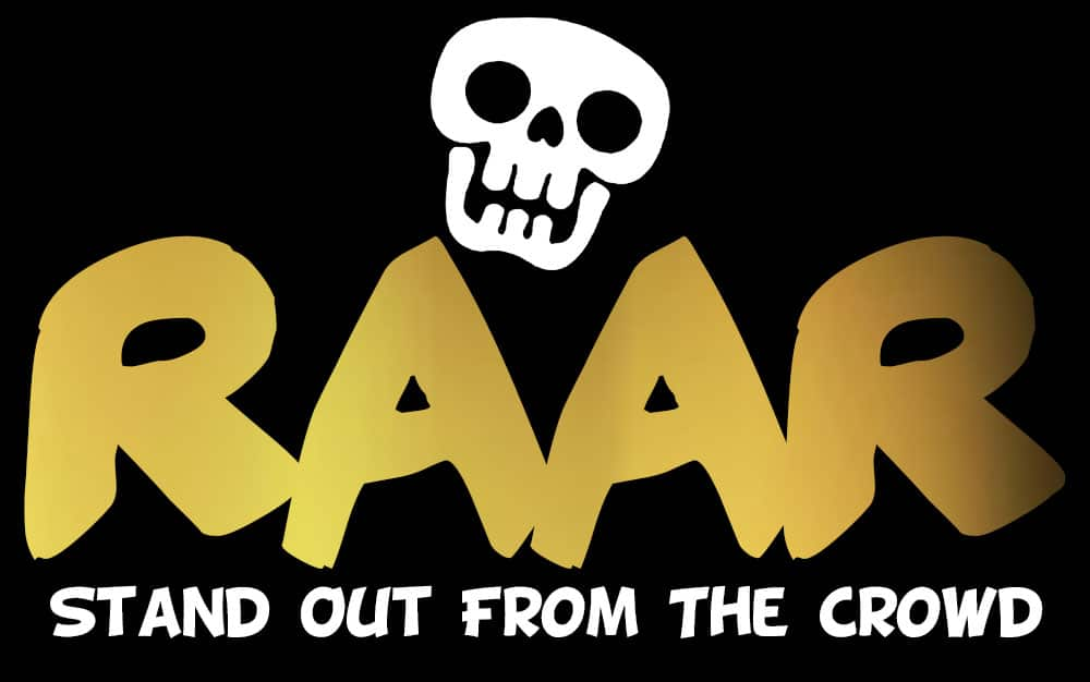 raar clothing logo