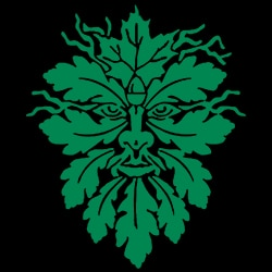the green man pagan design