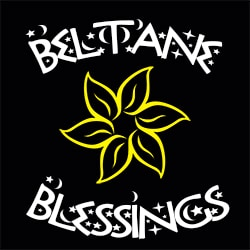 beltane blessings pagan design