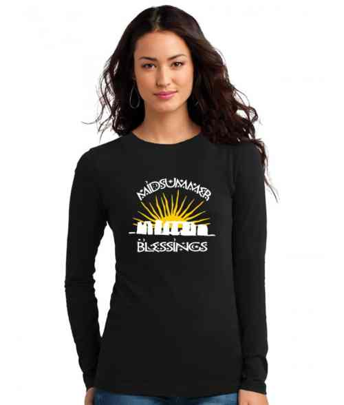 midsummer blessings ladies pagan shirt