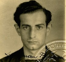 Identification photo from Stuttgart, Germany