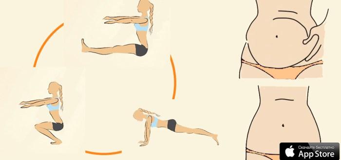 как похудеть, для похудения, упражнения, эффективные, топ 5, лучшие упражнения, жир с живота, с боков