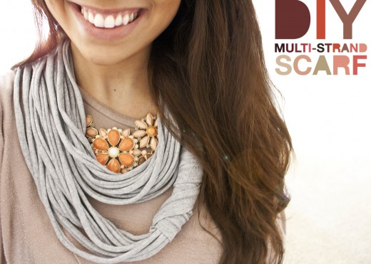 Easy-to-DIY scarves for every season: silk, plaid or wool ...