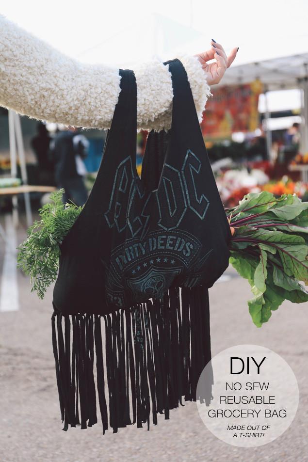 DIY Reusable Grocery Bag  Rabbit Food For My Bunny Teeth