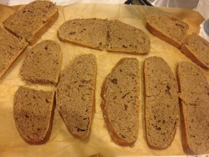 Whole wheat slices