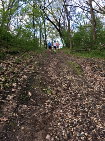 Ice Age 50 mile race first loop