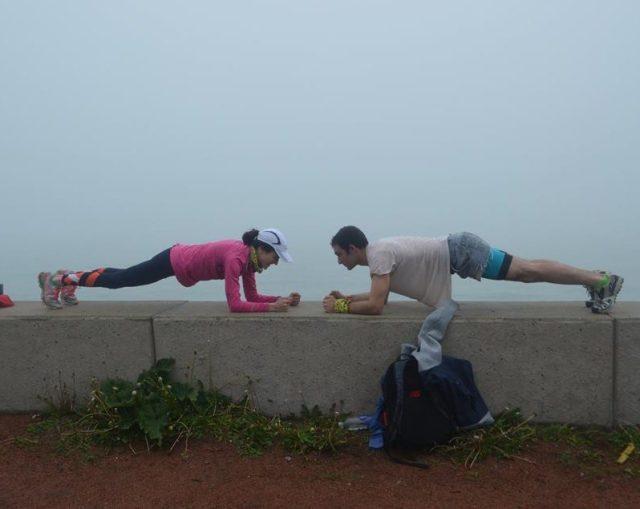 5 best strength moves for runners planks