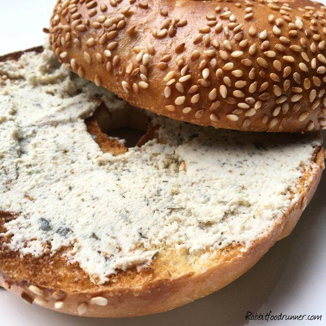 vegan chive cream cheese dehydrator cashews