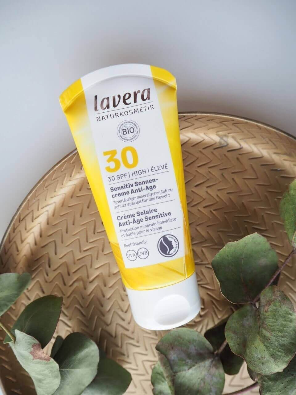lavera spf 30 aurinkovoide