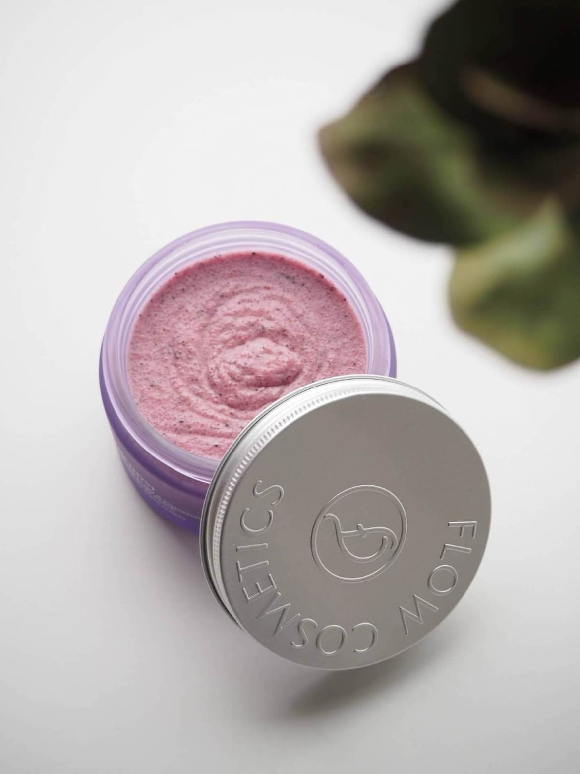 flow cosmetics amethyst body polish