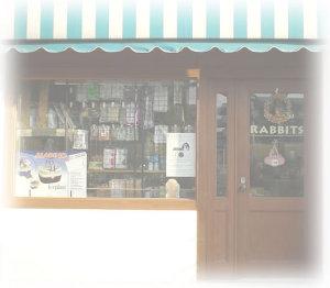 RABBITSのお店正面