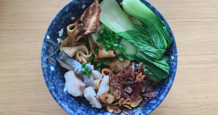 Fat Chewy Noodles