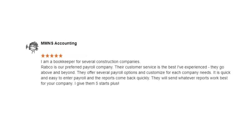 MMNS accounting Rabco Google Review