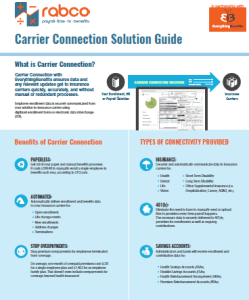 Carrier Connection Solution