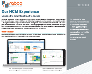 rabco hcm experience