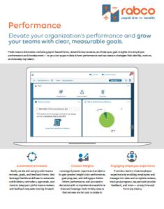 Performance Management Key Benefits