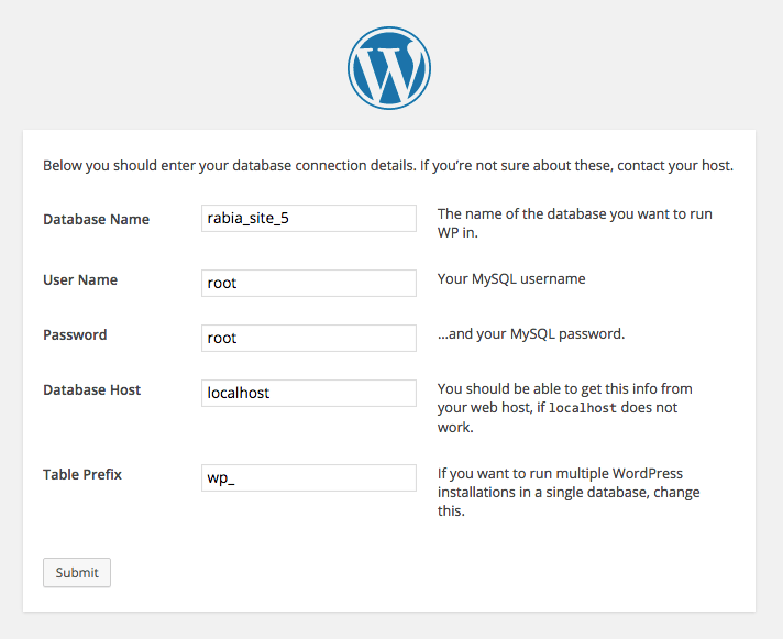 Updating wp-options fields