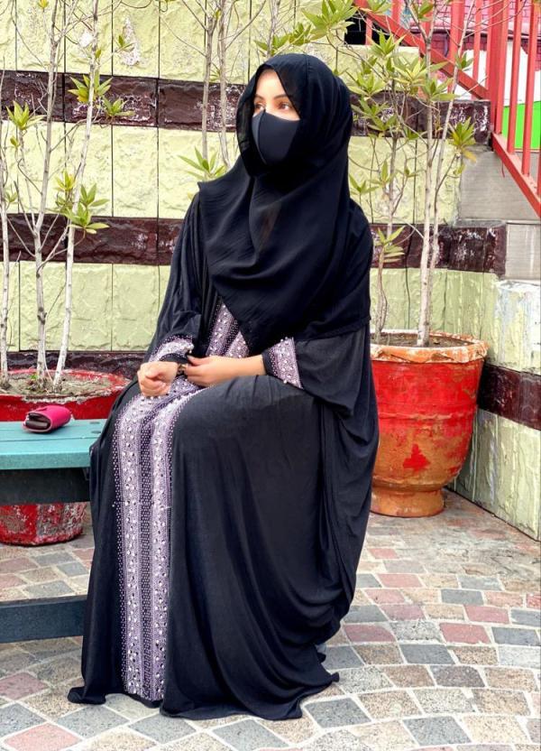 Black Abaya Kaftan