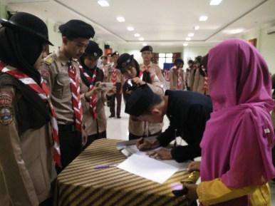 Serah Terima Jabatan Pemangku Adat periode 2015 kepada Pemangku Adat terpilih periode 2016
