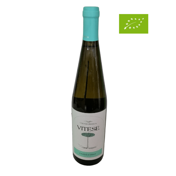 Vino Vitese Chardonnay Biologico Colomba Bianca