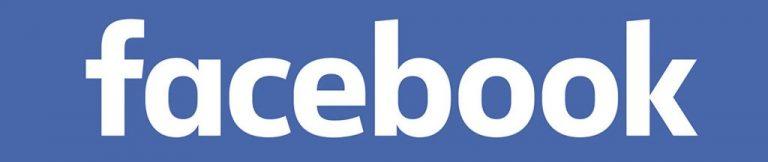 Logo da mídia social Facebook