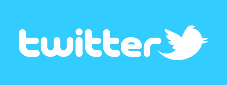 Logo da mídia social Twitter