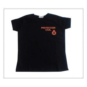 CAMISETA M/C RACCOON PROTECCION CIVIL INFANTIL