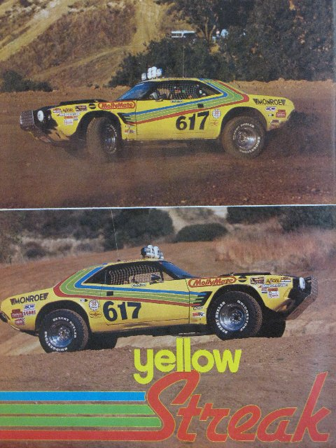 Dodge Challenger Off Road : dodge, challenger, Where, Yellow, Streak, Challenger?, Race-deZert