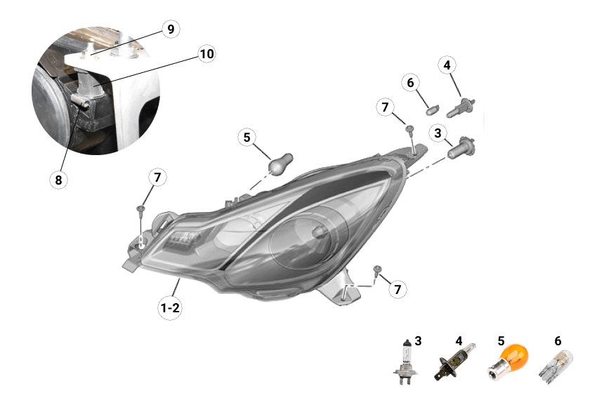 Z2A Headlights
