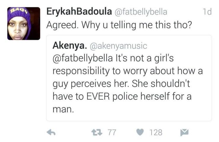 Erykah Tweet 2