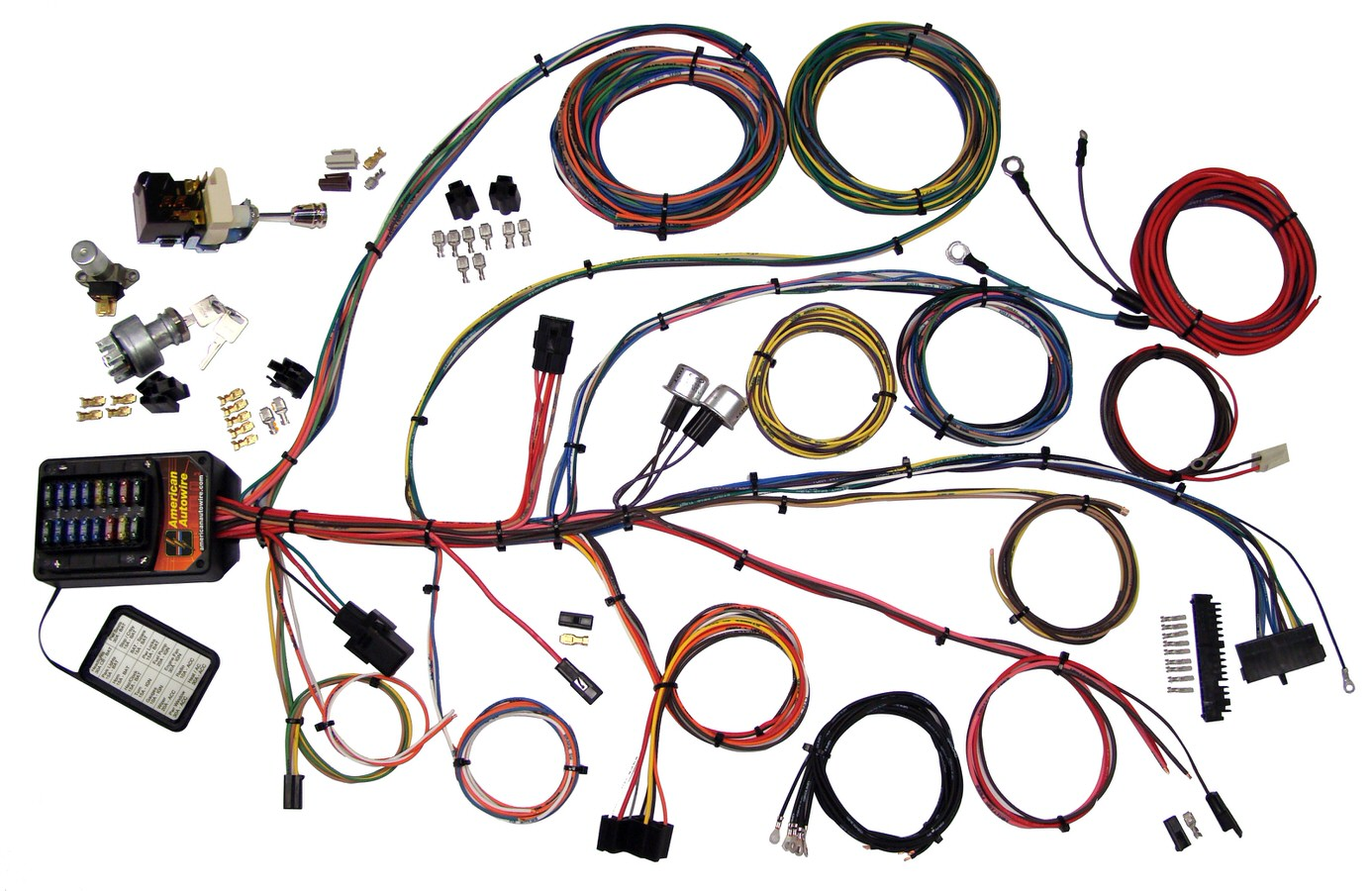 hight resolution of american autowire new builder 19 series wiring kit